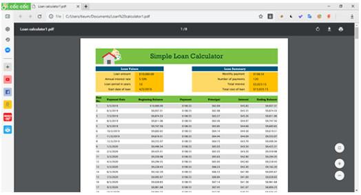 Cách chuyển Excel sang PDF đơn giản nhất nhanh chóng nhất 4