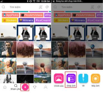 Hướng dẫn cách ghép nhiều ảnh thành 1 ảnh trên điện thoại Android, iPhone, iPad 2