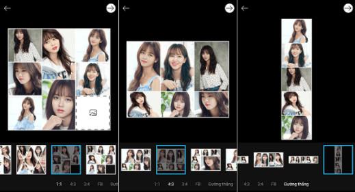 Hướng dẫn cách ghép nhiều ảnh thành 1 ảnh trên điện thoại Android, iPhone, iPad 4