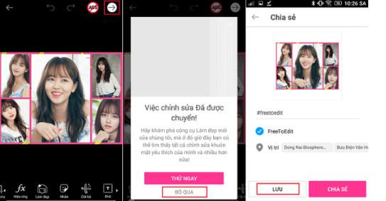 Hướng dẫn cách ghép nhiều ảnh thành 1 ảnh trên điện thoại Android, iPhone, iPad 6