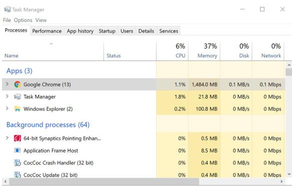 Cách khắc phục lỗi Full Disk 100% trên Windows 10 hiệu quả nhất 2