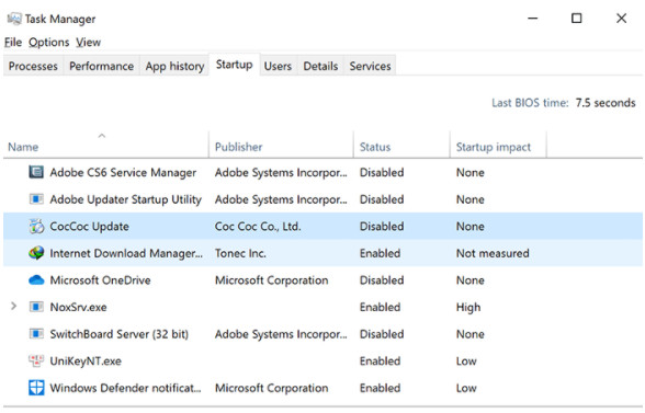 Cách khắc phục lỗi Full Disk 100% trên Windows 10 hiệu quả nhất 3