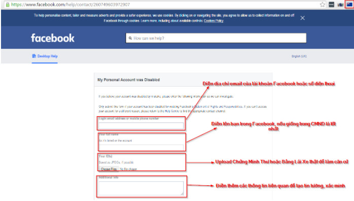 Hướng dẫn cách khôi phục lại tài khoản Facebook bị khóa nhanh nhất 6