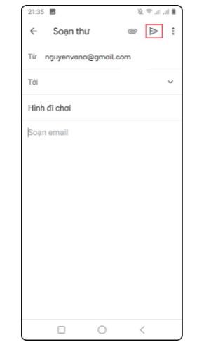 Hướng dẫn cách soạn email và cách gửi email bằng Gmail 4