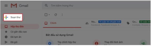 Hướng dẫn cách soạn email và cách gửi email bằng Gmail 7