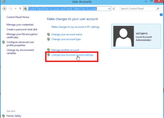 Cách Tắt User Account Control trên Windows 10, Windows 8 đơn giản nhất 1