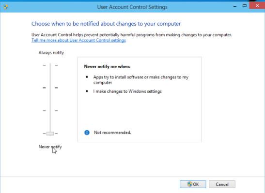 Cách Tắt User Account Control trên Windows 10, Windows 8 đơn giản nhất 2