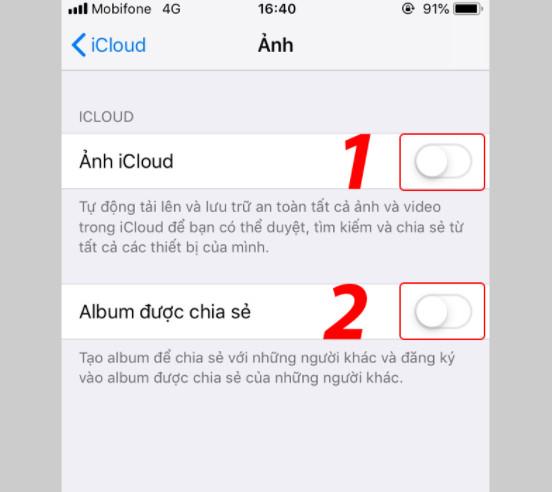 Hướng dẫn cách xoá ảnh sao lưu trên iCloud cho iPhone, Ipad nhanh nhất 13