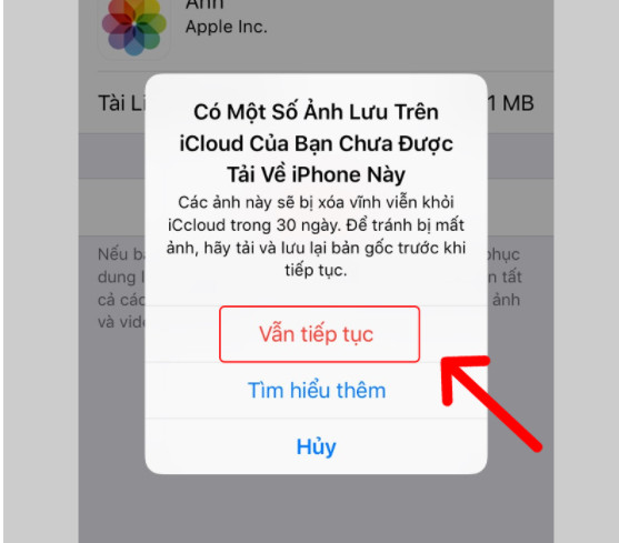 Hướng dẫn cách xoá ảnh sao lưu trên iCloud cho iPhone, Ipad nhanh nhất 9