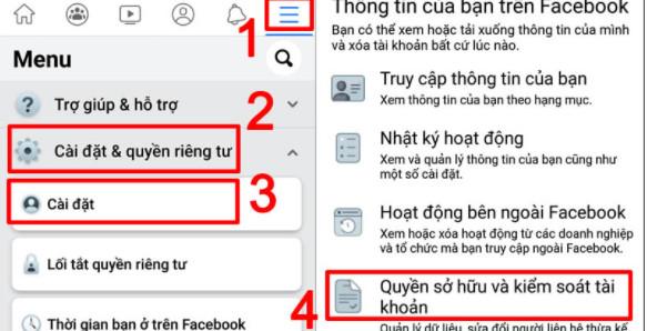 Cách xóa tài khoản Facebook vĩnh viễn trên điện thoại, máy tính, Laptop 1