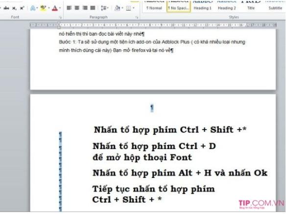 Hướng dẫn cách xóa trang trong Word đơn giản bạn nên biết 2